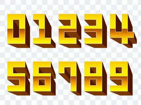 立體數字_C