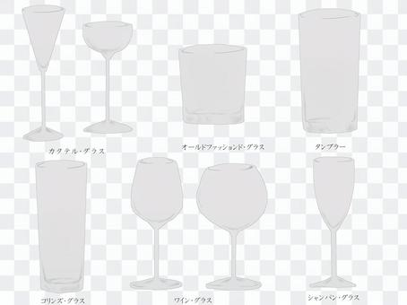 A lot of cocktail glasses 1