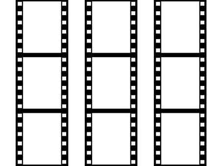Negative fill vertical 9 frames