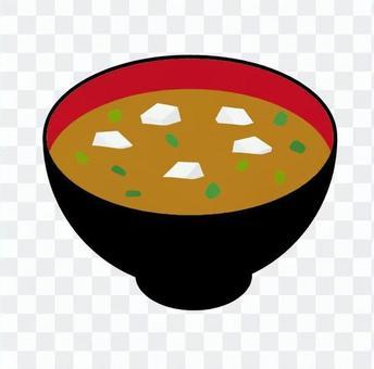 豆腐味噌湯