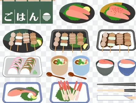 食物日本料理套裝4