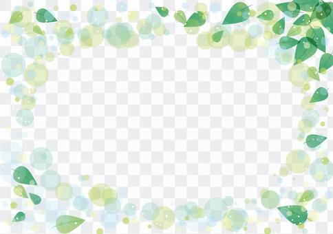 New green background