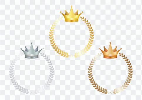 金牌 銀牌 銅牌 框架