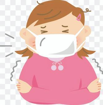 一个感冒的女孩1