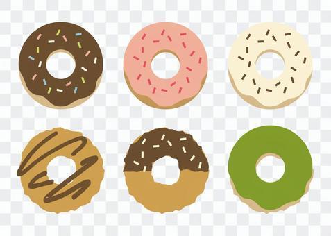 Assorted donut