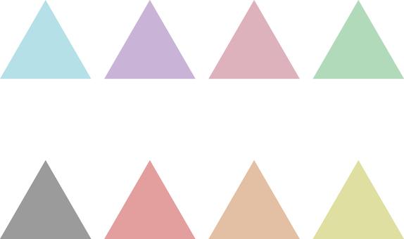 三角形 set_pastel