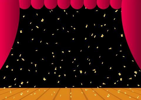 紙吹雪 舞台 ステージ