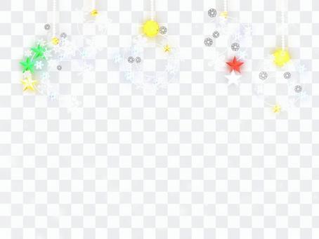 Ornament glitter