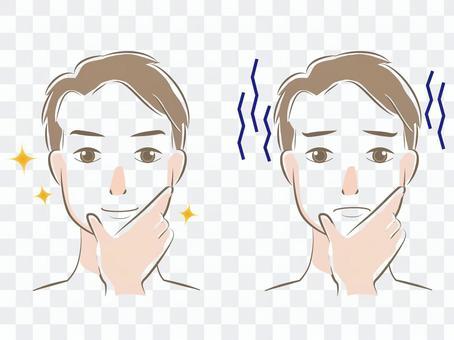 美容/護膚男士面部2