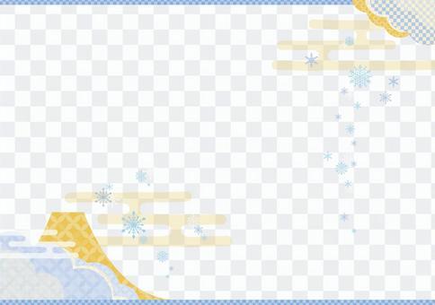 雪晶日式背景2