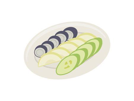 泡菜的插圖