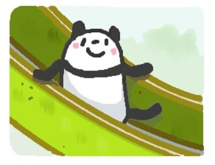 """Panda """"slide"""""""