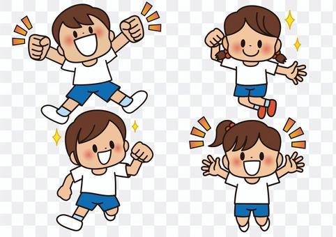 運動服兒童