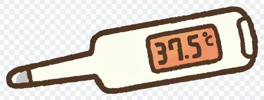 体温計(37.5℃)
