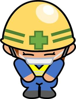 """Illustration of """"Yellow Helmet / Request for Construction"""""""