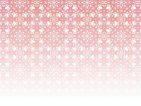 Fine rhombuses 2 (pink gradation)