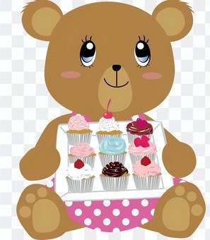 蛋糕_熊_可愛_動物2