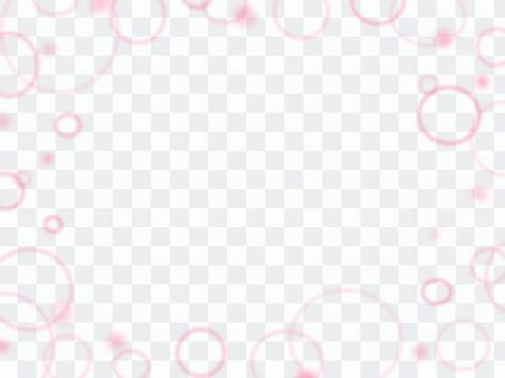 ほわほわピンク背景