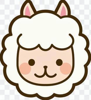 動物圖標羊駝