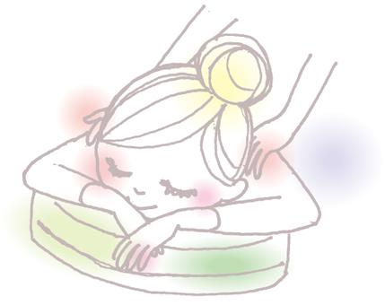 女孩放鬆3