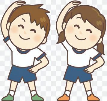 準備體操_健身房兒童體操