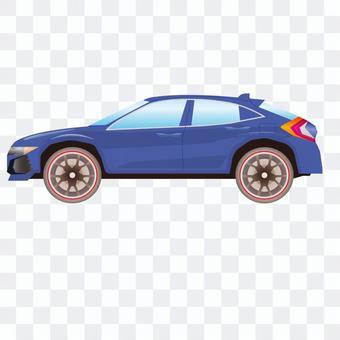 SUV汽車例證