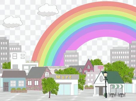 彩虹的城市