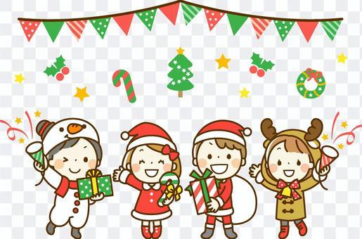 儿童圣诞派对