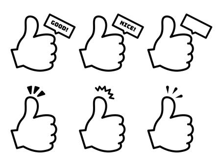 手簽_拇指背_推薦套裝