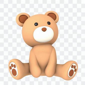 熊填充动漫角色021