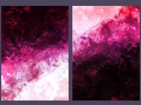 閃光粉紅色寶石紋理背景集
