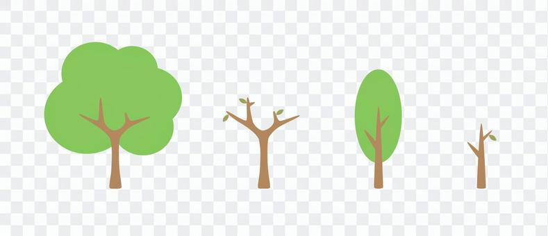 Tree and dead tree