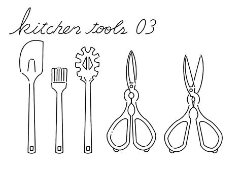 Kitchen tools 03