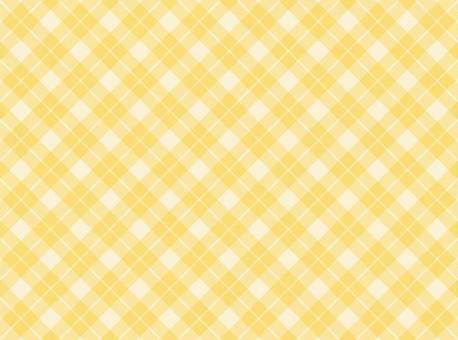 깅엄 크로스 노란색