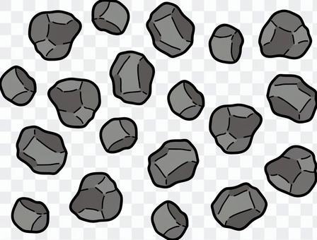 一塊石頭滿了