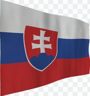 斯洛伐克國旗