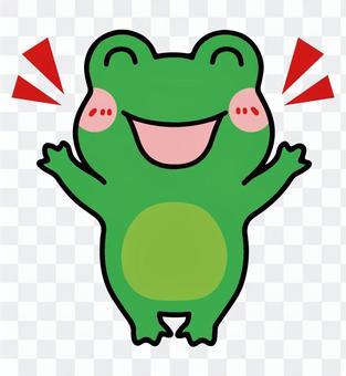 青蛙_喜悅