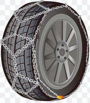 Tire chain iron (turtle type)