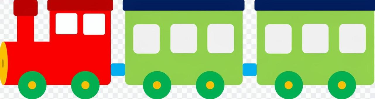 火车POP 01(红色,绿色)