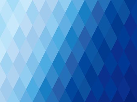 Rhombus Gradient Geometric Pattern Background Material Blue