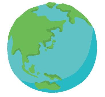 Deformed earth