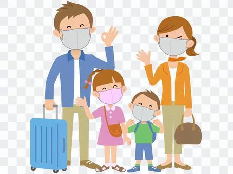 200923.家庭旅行,戴著口罩2