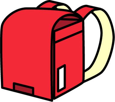 紅色的書包