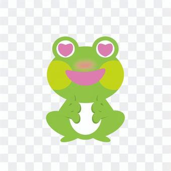 Frog (eye is heart)