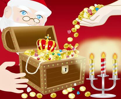 Santa's savings