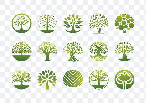 Tree mark-color