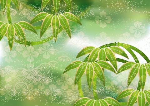 New Year's bamboo leaves & Qinghai wave 23