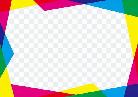 Colorful _ random frame ☆ picture frame