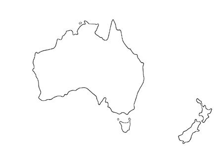 澳大利亞地圖