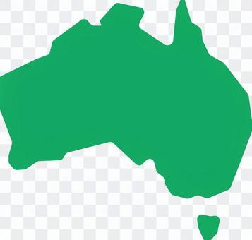 澳大利亞地圖圖標說明